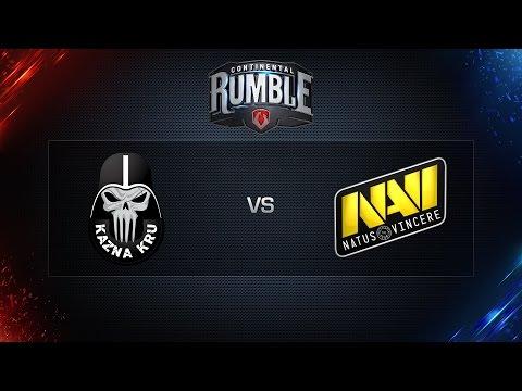 World of Tanks - Kazna Kru vs. NaVi - Continental Rumble - Showmatch