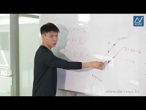 Видеоурок взаимное расположение графиков линейных функций