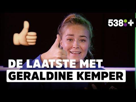 Wanneer zoende Geraldine Kemper voor het laatst met een chick? | De Laatste #26