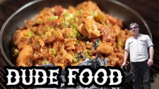 Kickin' Chicken And Ham Jambalaya Recipe