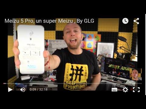 Meizu 5 Pro, un super Meizu, par GLG