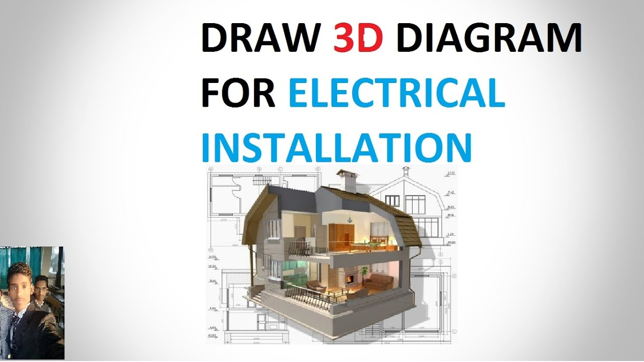 draw diagram for electrical installation ( IN HINDI ) - YouTube