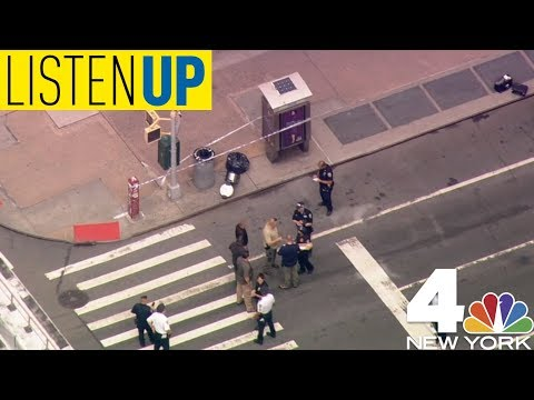 The NYPD Seeks Potential Suspect in Rush-Hour Bomb Scare | Listen Up August 16