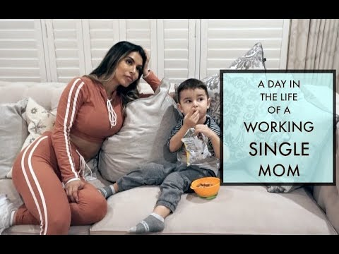 A DAY IN THE LIFE OF A TODDLER & A SINGLE WORKING MOM