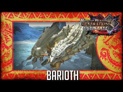 Monster Hunter Generations Ultimate: Barioth thumbnail