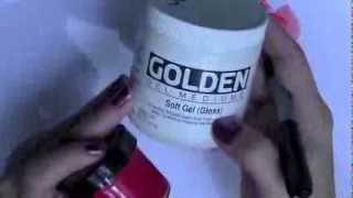 Mixing Color Shots with Soft Gel Gloss and Glazing Liquid