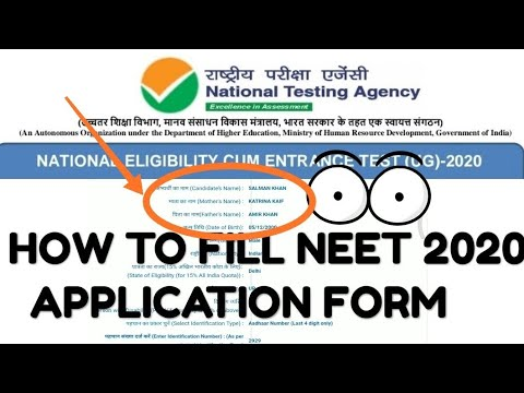 how-to-fill-neet-2020-form