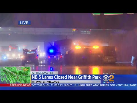 Fatal Crash Shuts Down NB 5 Freeway In Griffith Park