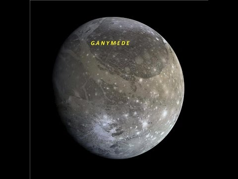 Must See! ~ Alien Cities On Jupiter's Moon, Ganymede ~2016