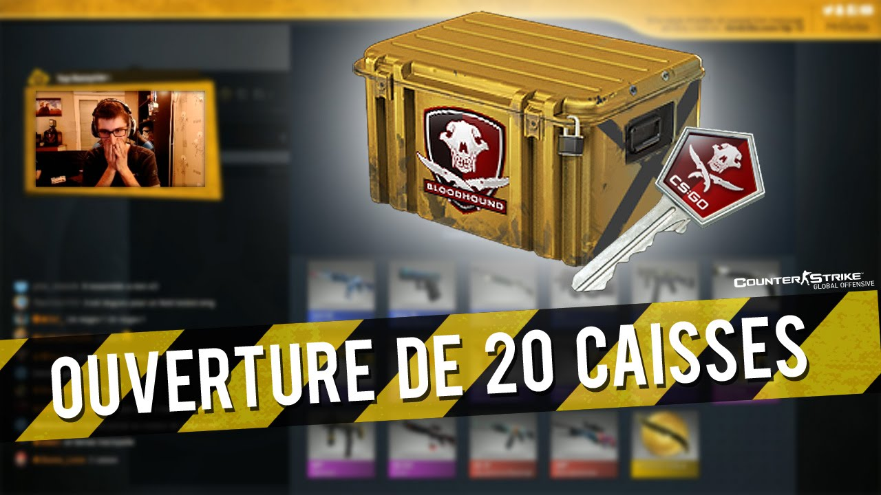 ouverture de 20 nouvelles caisses falchion cs go youtube. Black Bedroom Furniture Sets. Home Design Ideas