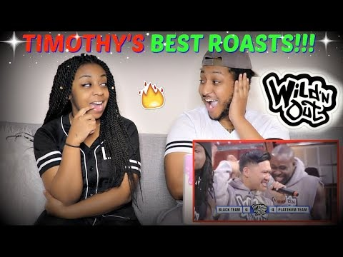 Wild 'N Out |  Best Of Timothy DeLaGhetto  REACTION!!