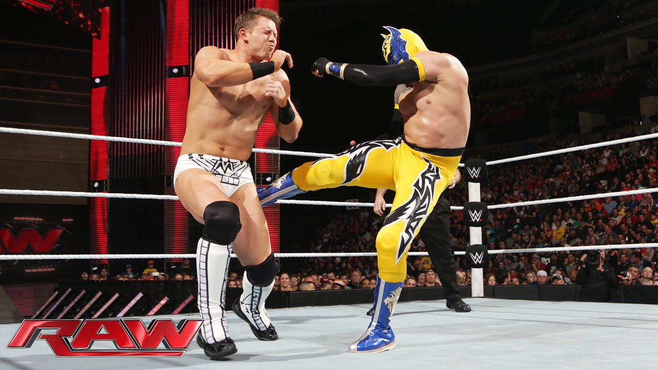 Sin Cara vs. The Miz: Raw, February 2, 2015