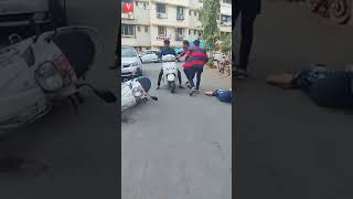 Road accident funny video