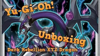 Yu-Gi-Oh! Mega Tin 2015 - The Dark Rebellion XYZ Dragon Unboxing