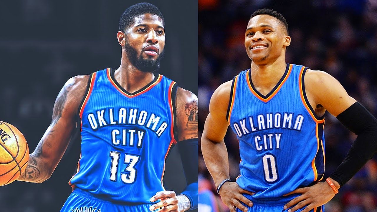 Image result for paul george thunder