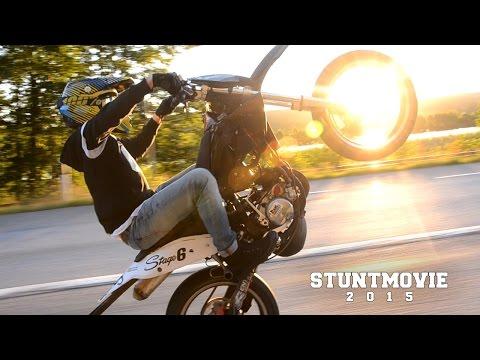 Stuntmovie 2015 || 50cc Wheelies (Summer movie 2015)