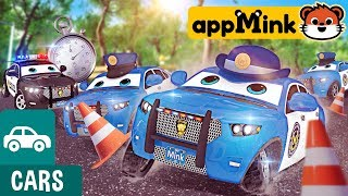 #appMink police academy - build a police car - police cadet training