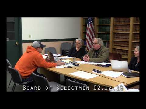 Board of Selectmen 02.12.18