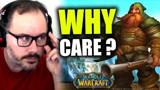 Why do World oḟ Warcraft Players Still Care about WoW?
