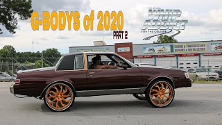 WhipAddict G-Bodys of 2020 Part 2, GA Car Shows, Cutlass, Monte Carlo, Regals, Malibu, El Camino