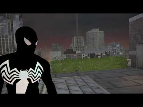 The Amazing Spider-Man Cartoon Pure Black Suit Mod! - YouTube | 480 x 360 jpeg 20kB