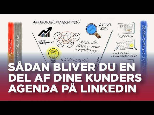 Sådan bliver du en del af dine kunders agenda på LinkedIn
