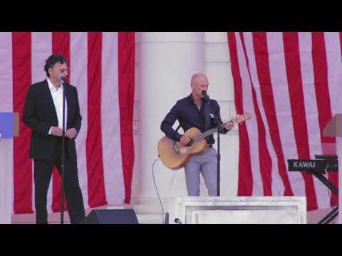 Kenny Chesney sings