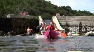 Ardèche - Canoe Tour de Salavas