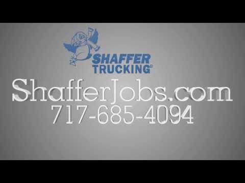 Truck Driving Jobs In PA | 717-685-4094 | Shaffer Trucking