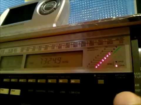 7325kHz Wantok Radio Light, Port Moresby PNG