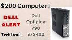 Deal Alert - $150 Intel i5-2400 Quad Core - Desktop Windows Computer - How to buy one on eBay