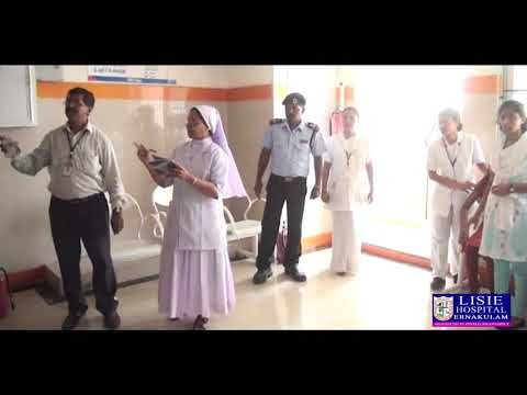 Fire Safety Mock Drill At Lisie Hospital