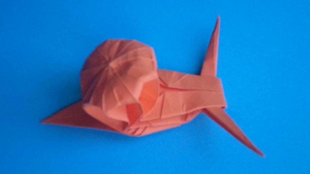 оригами улитка, как сделать оригами улитку // origami snail