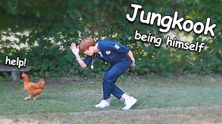 BTS Jungkook being himself