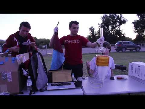 Stanford students set high-altitude balloon record