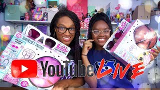 YouTube LIVE with The Froggy's: LOL Surprise Biggie Pets | Q&A | Fan Mail