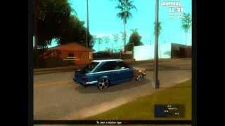 """Ford Escort XR3 - """"17"""" + Fixa + CHT Aspirado (GTA)"""