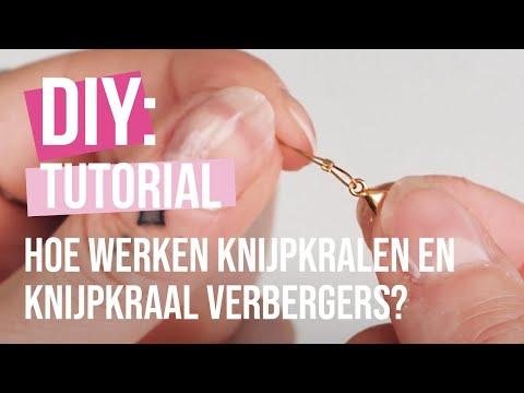 Basistechniek sieraden maken: hoe werken knijpkralen en knijpkraal verbergers?