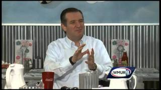 GOP candidate Cruz acts out