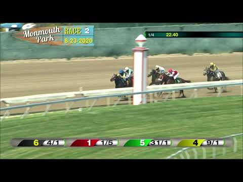 video thumbnail for MONMOUTH PARK 08-23-20 RACE 2