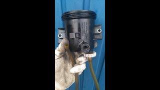 Changer son filtre à gas-oil sur un  moteur 2.0l hdi