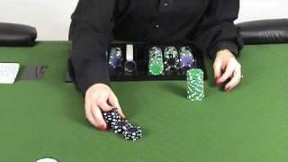 Poker Dealer Training Video - Cut Chips