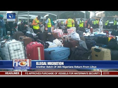 Another Batch Of 365 Nigerians Return From Libya Pt 1 | News@10 |