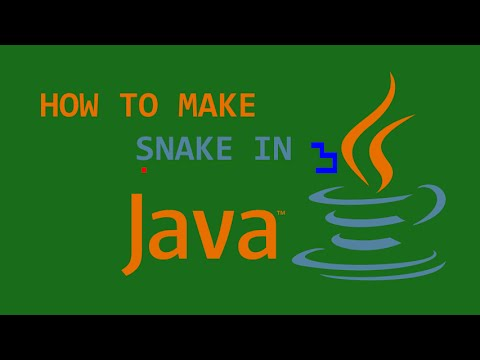 Programming Snake in Java! (Full Tutorial)