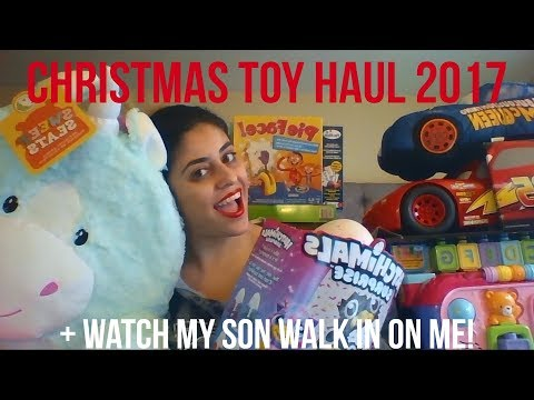 Christmas Shopping Haul 2017 from Toys 'R Us + Target--What I got my kids for Christmas!!