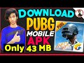PUBG Mobile APK Download Android [ ONLY 43 MB ] how to download PUBG mobile on android APK