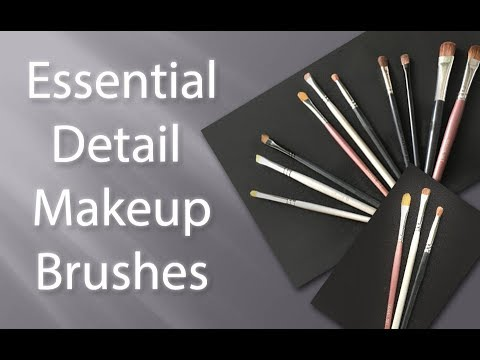 Essential Detail Brushes for Great Makeup Application thumbnail