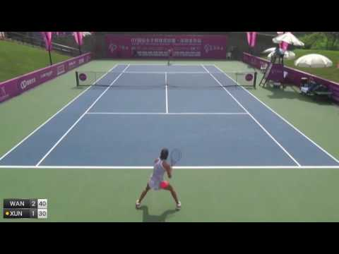 Wang Qiang v Xun Fang Ying - 2016 ITF Shenzhen