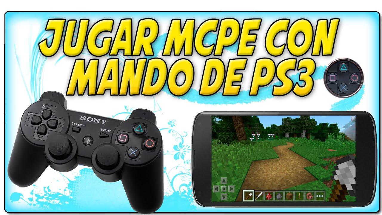 Jugar a MCPE en Android con mando de PS3 | Sixaxis Controller, Pair Tool y  Compatibility Checker
