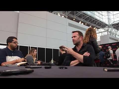 Sullivan Stapleton talks Kurt Weller at NYCC 2018